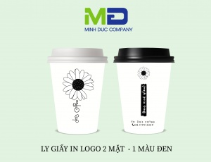 LY GIẤY IN LOGO DAIS COFFEE