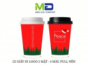 LY GIẤY IN LOGO PEACE