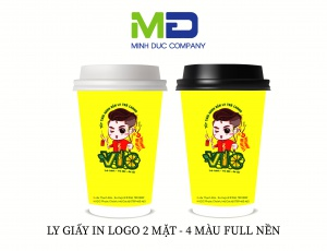 LY GIẤY IN LOGO VIC
